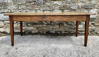Large French Sycamore & Elm Farmhouse Table (17 of 21)