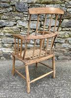 Antique Primitive Westcountry Stick Back Windsor Chair (7 of 18)