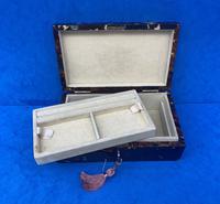 1960s Tortoiseshell Fitted Jewellery Box (8 of 8)