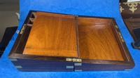 Victorian Brassbound Rosewood Writing Slope (14 of 20)