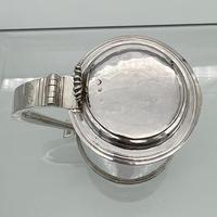 17th Century Antique Charles II Silver Tankard & Cover London 1683 Nathaniel Weekley (7 of 12)