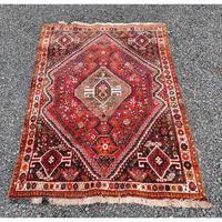 Traditional Persian Qashqai Wool Rug (2 of 5)