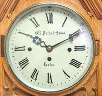 Antique English Fusee Bracket Clock by W Potts & Son Leeds 8 Day Fusee Timepiece Mantel Clock (4 of 14)