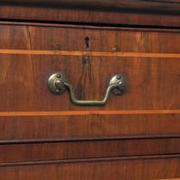 George III Inlaid Walnut Chest of Drawers (8 of 13)