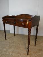 Irish Regency Mahogany Side Table (7 of 8)