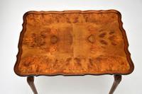 Burr Walnut Pie Crust Nest of Tables (6 of 8)