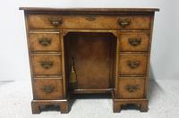 Queen  Anne Burr Walnut Desk (2 of 12)