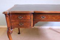 Antique Quality Burr Walnut Writing Desk (12 of 13)