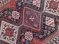 Antique Qashqai Rug 1.47m x 1.04m (5 of 17)