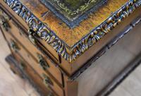 Antique Burr Walnut Partners Desk (17 of 18)