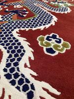 Vintage Tibetan Dragon Rug (5 of 8)
