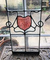 Antique Stained Glass Panel (9 of 12)