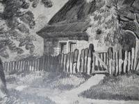 John Berney Ladbrooke Attributed Norwich School c.1860, Fine Large Sketch (6 of 6)