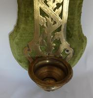 19th Century French Wall Stoup Cross (2 of 7)