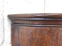 Georgian Oak Bow Front Corner Cupboard (7 of 10)