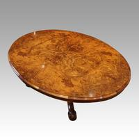 Victorian Large Walnut Coffee Table (2 of 10)