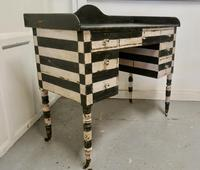 19th Century Italian Baroque Painted Console Side Table (4 of 6)