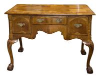Late 18th Century Walnut Lowboy on Carved Cabriole Legs (2 of 9)