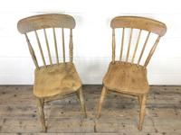 Set of Four Mix & Match Farmhouse Chairs (9 of 10)