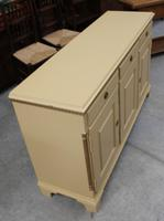 1960s Painted Dresser Base with Cupboards and Drawers (3 of 4)