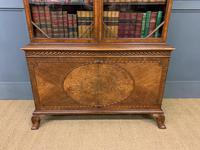 Burr Walnut Bookcase by Jas Shoolbred (12 of 19)
