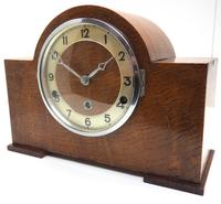 Good Arched Top Art Deco Mantel Clock – Musical Westminster Chiming 8-day Mantle Clock (4 of 11)