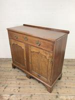 Antique Oak Cupboard on Bracket Feet (8 of 12)