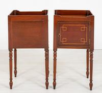 Pair of Regency Style Mahogany Bedside Cabinets (6 of 7)