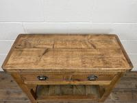 Rustic Wooden Sideboard with Two Drawers (4 of 10)