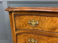Waring & Gillow Burr Walnut Serpentine Chest of Drawers (4 of 15)