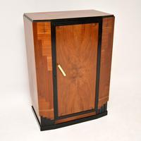 Art Deco Figured Walnut Compactum Wardrobe (5 of 11)