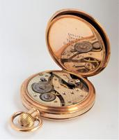 Antique 1920s Swiss Full Hunter Pocket Watch (5 of 6)