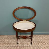 Stunning Victorian Mahogany Antique Bijouterie Table (7 of 7)