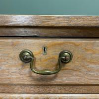 Superb Quality Limed Oak Antique Chest of Drawers (5 of 8)
