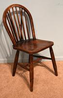 Victorian Ash & Elm Kitchen Dining Chairs (2 of 6)