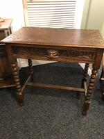 Antique Console Table Green Man Original Beautifully Carved