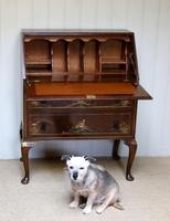 Walnut Chinoiserie Bureau (9 of 10)