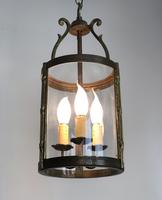 French Gilt Bronze Circular Lantern (4 of 11)