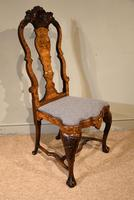 18th Century Dutch Marquetry Side Chair (7 of 9)