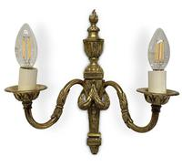 Pair of Classical Detailed Ormolu Wall Lights (2 of 3)
