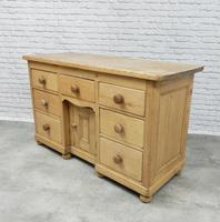 Antique Golden Pine Dresser Base (3 of 6)