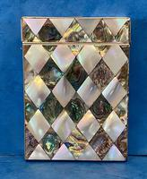 Victorian Abalone & Mother of Pearl Card Case (9 of 15)
