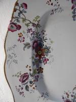 Large Chamberlain Worcester Platter (3 of 6)