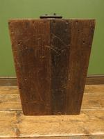 Antique Oak Chest, Early 19th Century Storage Chest for Weights, Lockable (15 of 21)