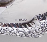 Fabulous Victorian Silver Inkstand by Charles Edward Nixon, Sheffield 1893 (7 of 9)