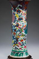 Oriental 19th Century Porcelain Vase Lamp (4 of 4)