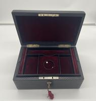Victorian Leather Fitted Jewellery Box (9 of 12)