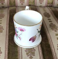 Early 19th Century Small Coalport Floral Tankard (3 of 6)