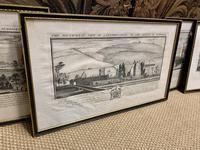 Set of 9 Framed Prints of Historic Castles & Abbeys (6 of 10)