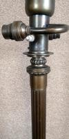 French Art Deco Bronzed Standard Lamp C1910 (7 of 11)